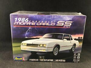 Revell 1986 Chevrolet Monte Carlo SS 2'N1 1:24 Scale Plastic Model Kit 85-4496