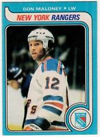 1979-80 DON MALONEY NEW YORK RANGERS RC ROOKIE  OPC O PEE CHEE  HOCKEY CARD #42