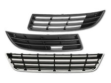 VW PASSAT 3C B6 06-10 GITTER GRILL IN STOßSTANGE BLENDE SET NEU HQ