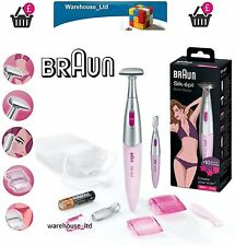 Braun FG1100 Pink Women Ladies Bikini Hair Remover Eyebrow Shaper Shaver Trimmer