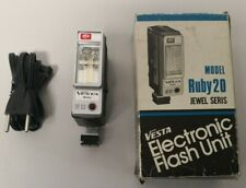 Vintage Vesta Electronic Flash Unit Model Ruby 20 Boxed *Fully Working*  D1