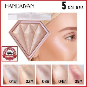 HANDAIYAN Makeup Shimmer Powder Highlighter Glitter Glow Face Contour Cosmetic