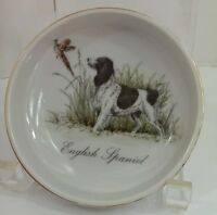 English Spaniel  Hunting Dog Duck Hunt Key Dish Trinket