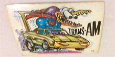 1970S SCANLENS ODDEST ODD RODS STICKER #77 TRANS-AM MONSTER DONRUSS LICENSED!