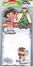 Memo LIST pad DORA the Explorer Christmas XMAS Feliz Navidad Boots NEW