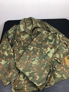 Soviet Russian TTSKO Butane Camo Camouflage Uniform Jacket with Pants Set Large