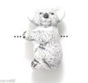 Peruvian Ceramic Koala Bear Pendant Focal Bead (1) Hand Painted