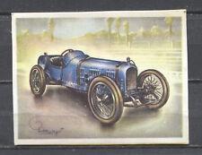 Ballot 5 L GP Racing Car 1919 Vintage 1950s Dutch Trading Card No.142