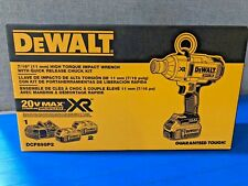 """DEWALT DCF898P2 7/16"""" IMPACT WRENCH KIT WITH FREE EXTRA BATTERY & CHARGER"""
