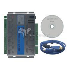 Mach3 Breakout Board Cnc Usb 4 Axis Motion Control Card 2mhz Mk4 V Upgrade