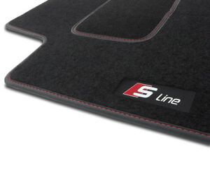 3HS TAPPETI TAPPETINI moquette velluto S-LINE per Audi A3 8P 2003-2013