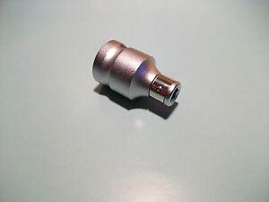 "Mannesmann Square Drive 1/2"" to 1/4"" Hex Bit Adapter Socket Bit Holder GS TUV"