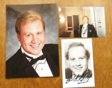 Lot 3 Photo dédicacé Autographed photo singer OPERA RICHARD LEECH