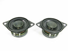 Pair (2)  AVI  Electronics PRO3.5 Speakers   4 ohm   15 watts  EXCELLENT