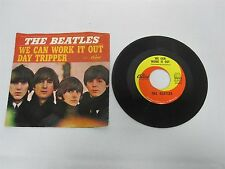 VINTAGE BEATLES 45 WE CAN WORK IT OUT DAY TRIPPER CAPITOL 5555 w PICTURE SLEEVE