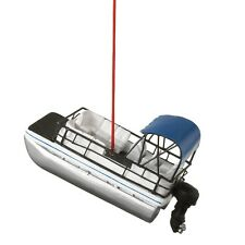 """PONTOON BOAT Christmas Tree Ornament, 3.75"""" Long, by Midwest CBK"""