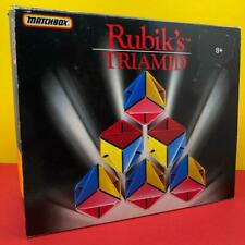 Vintage Rubiks Cube Triamid Puzzle Brain Teaser Boxed Toy 1990s 100% Complete