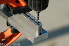 Metric drill guide -comparable to a portable drill press w/no drill bushings