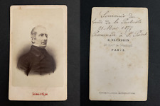 Neurdein, Paris, Lamartine,  St Point, 21 mai 1877 CDV vintage albumen print