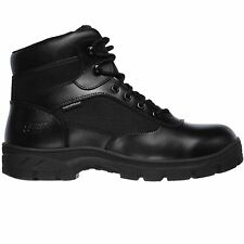 Skechers Mens 77526 Work Relaxed Fit Black Wascana - Benen WP Tactical Boots