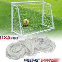 6x4ft Football Soccer Goal Post Net For Kids Football Sports Training Portable