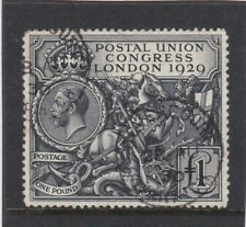 Great Britain 1929 £1 PUC Superb Used With c.d.s. Never Hinged