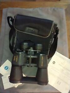 Minolta Standard EZ Zoom 8x-20x50  2.6 at 20x Binoculars complete with case