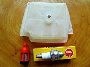 Tune Up Kit Stihl MS341 MS361 1135 120 1601 1135 120 1600 NGK Spark plug