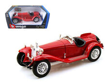 1932 Alfa Romeo 8C 2300 Spider Touring Red 1:18 Diecast Model - Bburago 12063RD