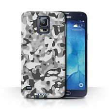 STUFF4 Back Case/Cover/Skin for Samsung Galaxy S5 Neo/G903/Camouflage Army Navy