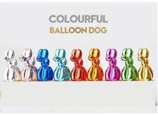 Balloon Dog Sculptures Contemporary Art Collectible Figurine Decoration Models