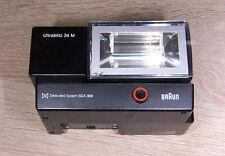 Braun Ultrablitz 34 M für SCA 300 Computerblitz & TTL über SCA / Strobist