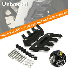 Motorcycle CNC Anti Falling Front Fork Fender Cover Block Mud Flap Splash Guard