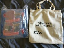 Stag - Portable Mini Table Tennis Table - And Tote/Bag!