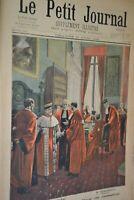 Le petit journal supplément illustré / 17 Avril 1898 / Affaire Zola La cour