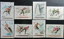Hungary 1955 Winter Sports-Airmail Stamps. CTO.