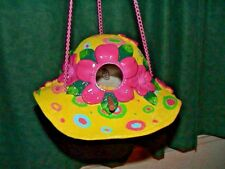 Birds Of Paradise Yellow Sunhat Birdfeeder Birdhouse Or Just For Decoaration
