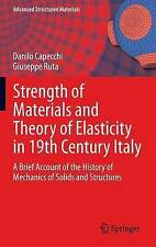 Strength of Materials and Theory of Elasticity in 19th Century Italy: A Brief Ac