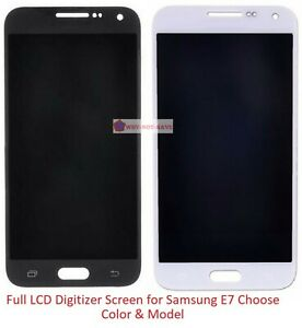 Full LCD Digitizer Glass Screen Display Replacement Part for Samsung Galaxy E7