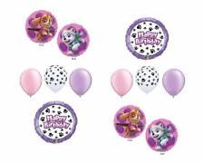 10 pc PAW PATROL SKYE & EVEREST Birthday Balloons Set Paw Prints FREE SHIPPING