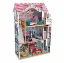 Portable Dollhouse Playset, Kids/Children Plastic/Wood Annabelle Dollhouse Toy