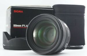 MINT in BOX SIGMA 50mm F1.4 EX DG HSM Standard Lens for Nikon F Mount From JAPAN