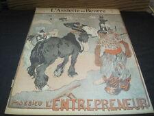 L'ASSIETTE AU BEURRE N° 159 16 avril 1904  mossieu l'entrepreneur /Léon GEORGES