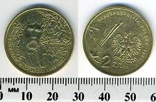 Poland 2004 - 2 Zlote Brass Coin - Stanislaw Wyspianski (1869-1907) - Artist