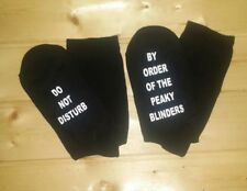 DO NOT DISTURB, BY ORDER OF THE PEAKY BLINDERS socks gift christmas birthday