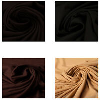 100% Wool Jersey Quality Fabric Dress Material Plain Upholstery Fashion Craft