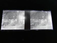STEREOSCOPE NEGATIF / FRANCO BRITISH EXHIBITION LONDON 1908 Homme au repos