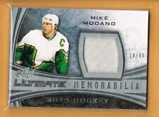 2015 Leaf Ultimate Mike Modano Game Used Jersey /40 Dallas Stars