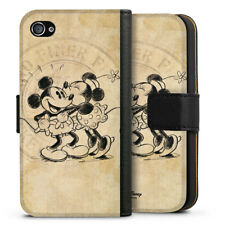 Apple iPhone 4 bolso funda flip case-Minnie & Mickey
