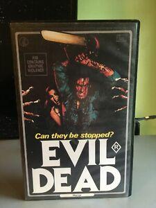 Evil Dead K Tel Australian Rare Horror Vhs PAL